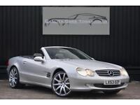 Mercedes SL 500 5.0 V8 R230 *Genuine 57k Miles + Genuine Kahn 20 inch Wheels*