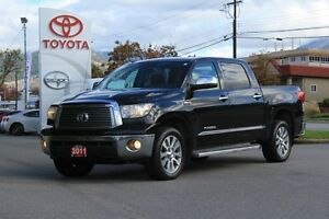 2011 Toyota Tundra Crewmax Platinum   -4X4,Navigation,Leather