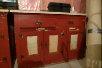 old cupboards