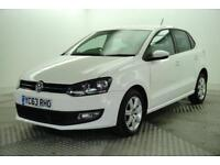 2013 Volkswagen Polo MATCH EDITION TDI Diesel white Manual