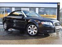 2006 56 AUDI A4 CABRIOLET 1.8T GOOD AND BAD CREDIT CAR FINANCE AVAILABLE