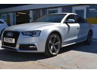 2013 13 AUDI A5 2.0TDI SPORTBACK BLACK EDITION GOOD AND BAD CREDIT CAR FINANCE