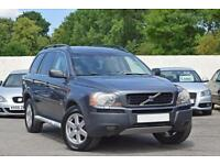 LEFT HAND DRIVE VOLVO XC90 S 2.4TD DIESEL AUTO [7 SEAT] 4X4 2005 [55] GREY LHD