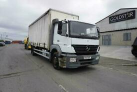 Mercedes-Benz Atego 1824 4X2 CURTAINSIDE RIGID ON STEEL SUSPENSION WITH TAILLIFT