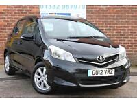 Toyota Yaris 1.33 VVT-i Touch & Go TR Manual Petrol 5 Door Hatchback in Black