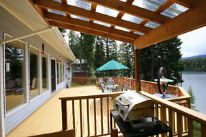 Gorgeous Lakefront Home with Beachfront & Shop on Horsefly Lake! Williams Lake Cariboo Area image 3