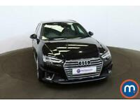 2019 Audi A4 35 TFSI S Line 5dr S Tronic Auto Estate Petrol Automatic