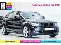 2011 BMW 1 Series 2.0 118d M Sport Auto 5dr Hatchback Diesel Automatic