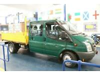 2009 - 09 - FORD TRANSIT T350 2.4TDCI 115PS RWD 6 SEAT DOUBLE CAB TIPPER