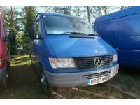 Mercedes Sprinter Automatic Petrol Van With 22,000 miles only.
