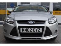 2012 62 FORD FOCUS 1.6i POWER SHIFT AUTO ZETEC GOOD AND BAD CREDIT CAR FINANCE