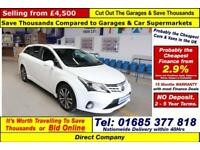 2012 - 62 - TOYOTA AVENSIS 2.0D-4D 5 DOOR ESTATE (GUIDE PRICE)