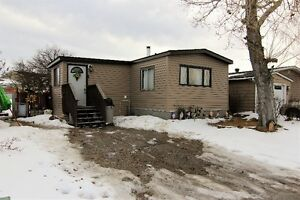 Mobile home for Sale in Airdrie - Own your own land!