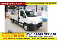 2013 - 13 - IVECO DAILY 35S11 2.3HPI AUTO SINGLE CAB TIPPER (GUIDE PRICE)