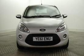2012 Ford Ka ZETEC Petrol silver Manual