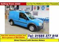 2004 - 54 - FORD TRANSIT CONNECT L200 1.8 DUAL FUEL SWB VAN (GUIDE PRICE)