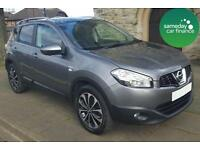 ONLY £256.33 PER MONTH GREY 2013 NISSAN QASHQAI 1.6 4WD N-TEC+ DIESEL MANUAL