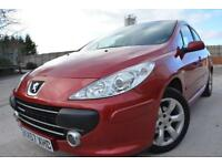 PEUGEOT 307 S 1.6 16V 5 DOOR*ONE LADY OWNER SINCE 2009*OCTOBER MOT*AIR CON*