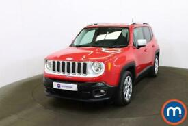 image for 2018 Jeep Renegade 1.4 Multiair Limited 5dr CrossOver Petrol Manual