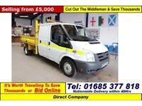 2010 - 10 - FORD TRANSIT T350 2.2TDCI 100PS DOUBLE CAB TIPPER (GUIDE PRICE)