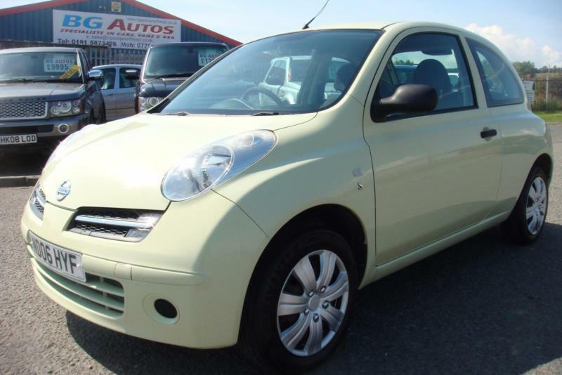 06 NISSAN MICRA 1.5 DCI S 3DR LOW INSURANCE & MPG
