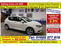 2014 - 64 - SEAT IBIZA TOCA 1.4 PETROL 5 DOOR HATCHBACK (GUIDE PRICE)
