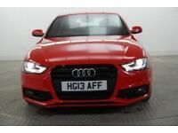 2013 Audi A4 TDI S LINE BLACK EDITION Diesel red Manual