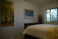 High-end B&B suite rented in winter, fully furnished