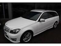 Mercedes C250 CDI BLUEEFFICIENCY AMG SPORT. VAT QUALIFYING