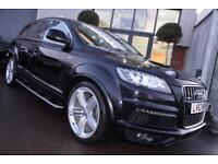 Audi Q7 TDI QUATTRO S LINE PLUS-1 OWNER-SIDE RUNNING BOARDS