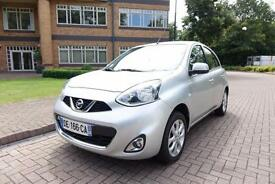 2014 Nissan Micra 1.2 Pure Drive 5 dr Left hand drive Lhd French Registered