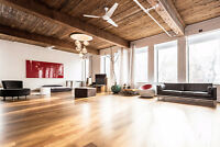 Upscale Loft available for rent on Papineau