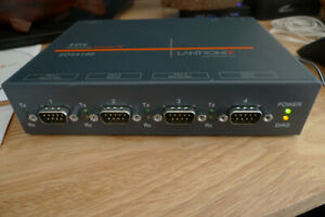 Lantronix EDS4100 4-Port Enterprise Serial Device Server .