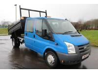 Ford Transit 350 D/C TIPPER DRW 61 REG DIESEL VERY LOW MILEAGE