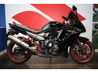 2010 10 SUZUKI GSX 650 F, BLACK / RED
