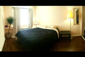 Downtown Burlington Condo, Bedroom sublet (furnished)