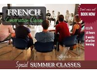 FRENCH WORKSHOP / CONVERSATION CLASS - 8 weeks / small group