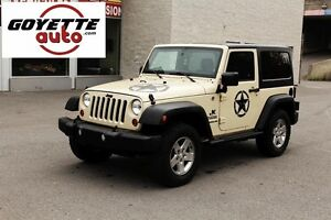 Jeep Wrangler 2011 4WD Sport , A/C, Mags