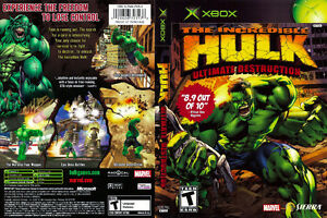 The Incredible Hulk Ultimate Destruction for XBOX
