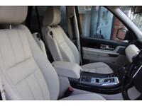 Land Rover Range Rover Sport SDV6 HSE BLACK-1 OWNER FROM NEW-SATNAV-HEATED LEATH