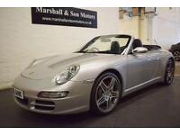 2006 56 PORSCHE 911 3.8 CARRERA 4S TIPTRONIC S 2D AUTO 350 BHP
