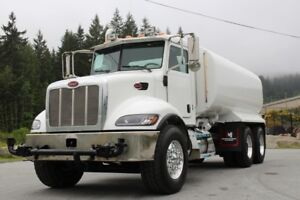 2006 Peterbilt 335 T/A Water Truck, Side Spray Bars, 8LL Trans
