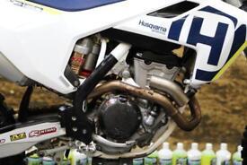 2018 HUSQVARNA FC 350 MOTOCROSS BIKE 27.8 HOURS, PRO CARBON FUEL TANK