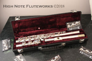 Buffet Crampon Flute 228E Made in England New Pads Ready to Play