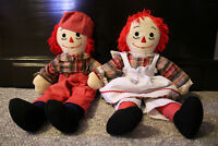 Handmade Ragedy Ann and Andy doll set for sale
