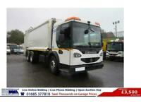 2009 Dennis ELITE 2 2 6X4 26TON REFUSE VEHICLE (GUIDE PRICE) Specialist/Other Di