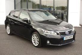 2013 Lexus CT 200h 1.8 Luxury CVT 5dr