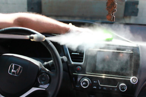 Car detailing with dry steam! Starting from $39.00