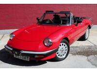 Alfa Romeo Spider Right Hand drive
