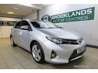Toyota Auris Excel 1.4 D-4D [8X TOYOTA SERVICES, SAT NAV, LEATHER, REVERSE CAM,
